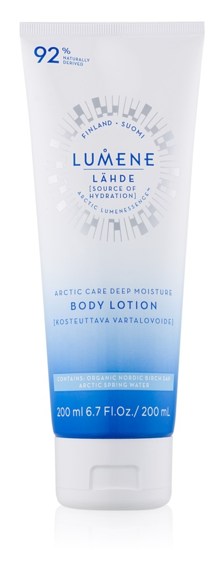 Lumene Lähde [Source of Hydratation] hydratačné telové mlieko